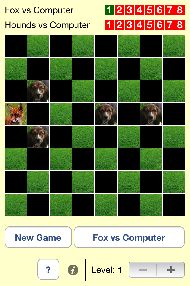 Screenshot Fox & Hounds Lite