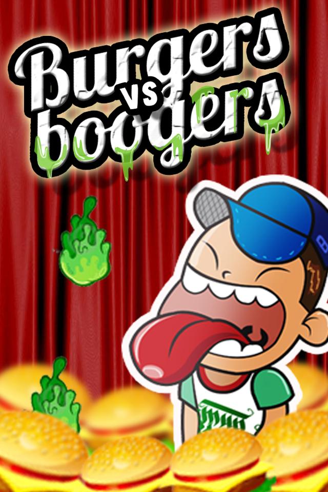 Screenshot Burgers vs Boogers : Its Not Mama's Cooking